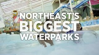 Biggest Indoor Waterpark in the Northeast - Aquatopia Indoor Waterpark, PA, Poconos