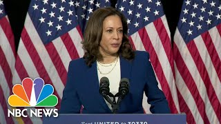 Kamala Harris' Journey To The Presidential Ticket | NBC Nightly News