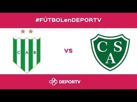 #FÚTBOLenDEPORTV - EN VIVO - Banfield vs Sarmiento