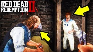 What Happens If You KILL The Gunsmiths SECRET Son In Front Of Him in Red Dead Redemption 2!