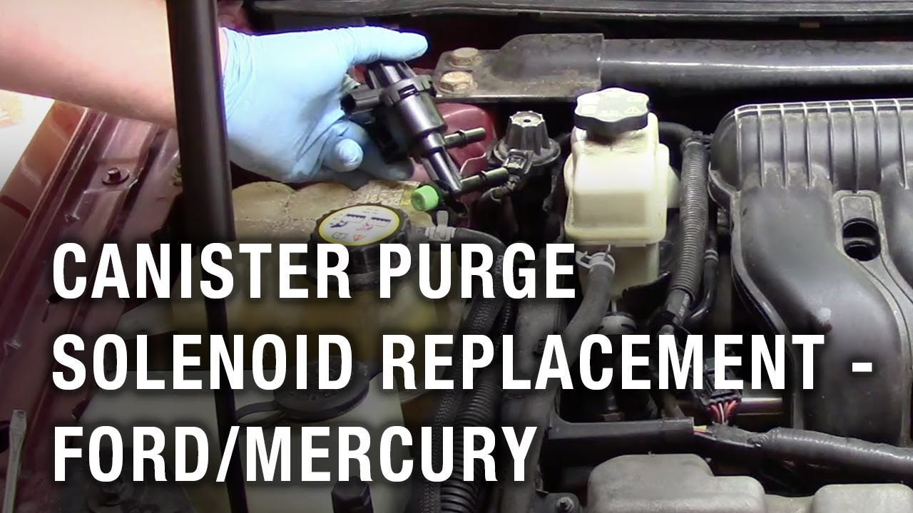 Canister Purge Solenoid Replacement Ford Taurus Mercury