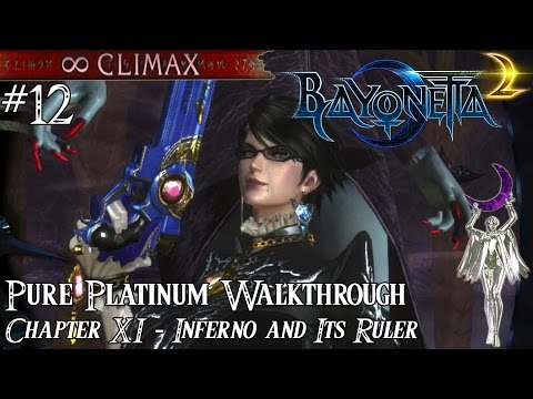 「Bayonetta 2」 Pure Platinum Walkthrough #12 [∞ Climax] Chapter XI: Inferno and It's Ruler