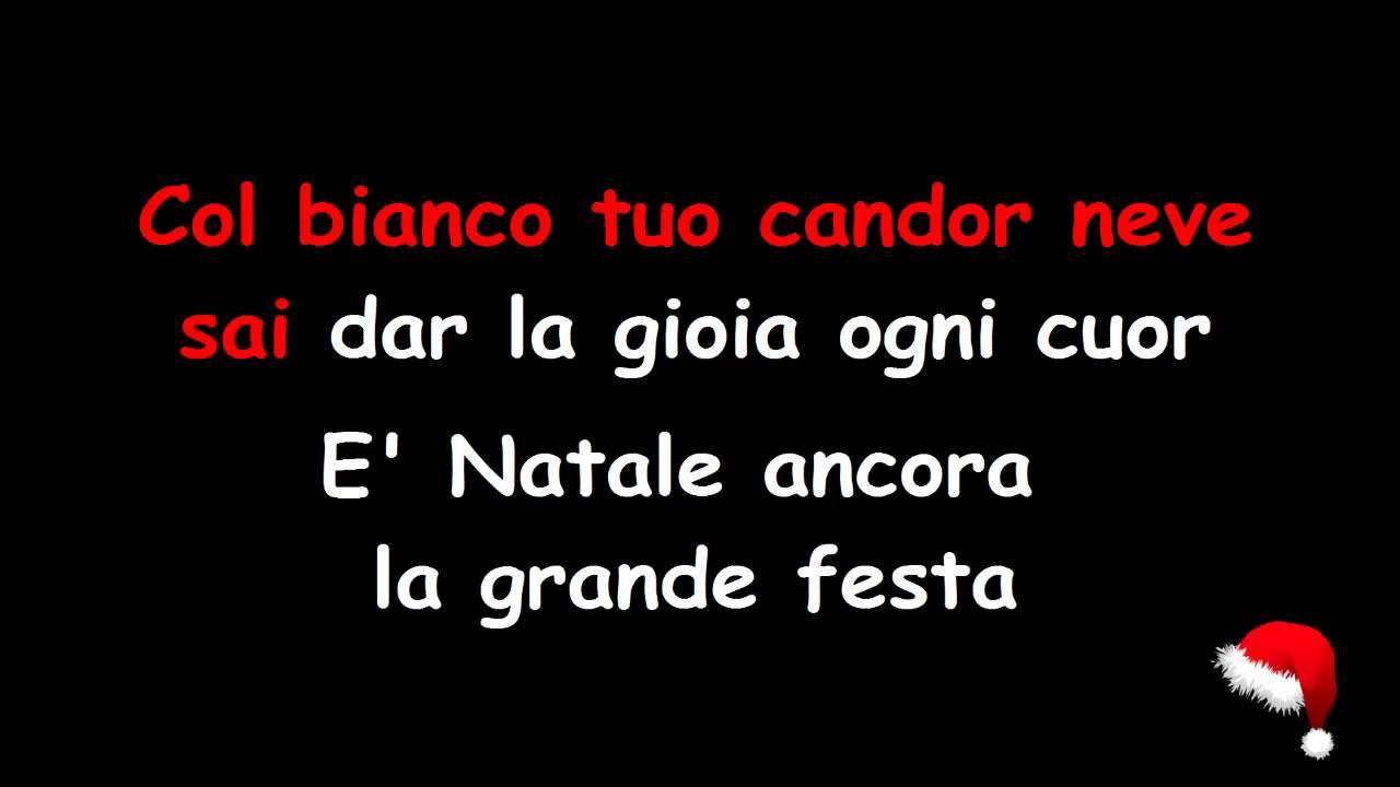 Bianco natale canzone you tube