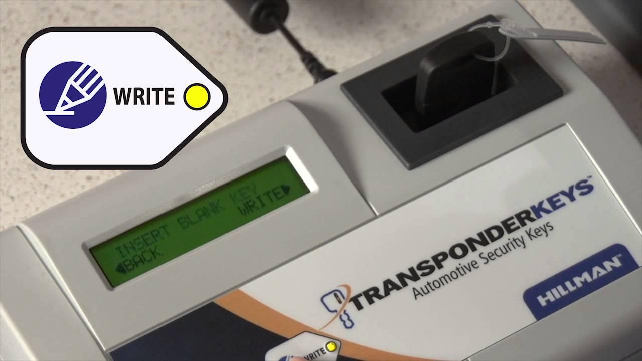 Axxess Key Duplication System For Automotive Transponder Security Keys Youtube