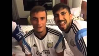 Dubsmash Argentina - Emanuel Mammana, Sebastián Driussi y Maximiliano Ledesma (minions)