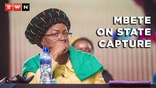 Former National Assembly speaker Baleka Mbete appeared before the state capture commission of inquiry on 18 May 2021. Here's a wrap up.  #StateCapture #Mbete