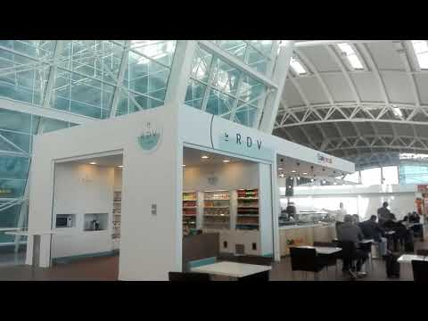 NEW ALGIERS AIRPORT FROM INSIDE