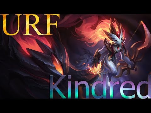 [URF]League of Legends| Kindred ~¿Podre ganar un 4 vs 5? ~ Full critico! | Termino TOP 1 en Daño thumbnail