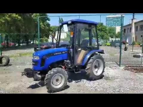 Новый трактор обзор Lovol 354 Plus – краткий обзор   Agrotechnika.com.ua🚜