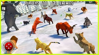 🐅 Brutal Animal Kingdom Battle Simulator 3d 🐘 🌴 All Unlocked Powerful Unbeatable Heroes