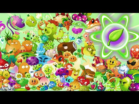 All plants in Plants vs Zombies 2 Power Up