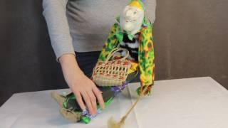 Баба Яга с корзиной / www.artshop-rus.com