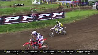 Paulin and Herlings pass Coldenhoff - MXGP of Sweden