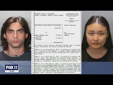 Download Charges including murder filed against SoCal couple in freeway shooting death of Aiden Leos