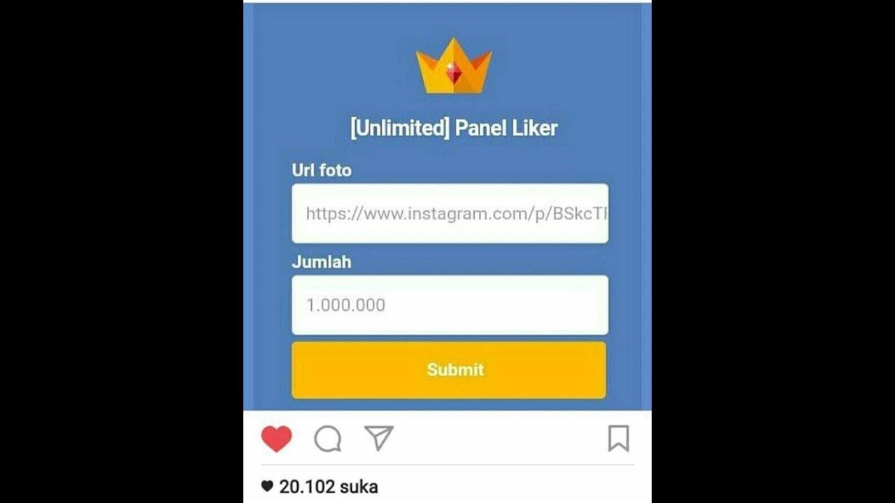 Cara Menambah Like Instagram Tanpa Password Sampai 50k Youtube