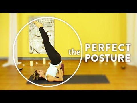 shoulder stand  perfect posture  dana damara  youtube