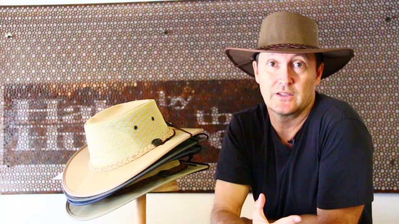 Barmah 1057 Canvas Drover Airflow Hat- 6 Colours - Hats by the Hundred b462e8d8189b