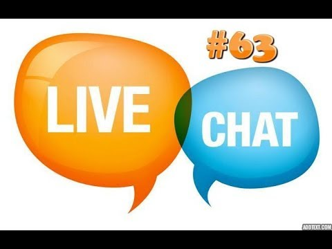 My Live YouTube Q&A chat #63