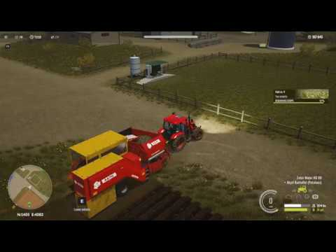 Pure Farming 2018 - #4 Potato harvesting and Biogas factory - Gameplay