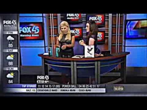 """Steal Vs. Splurge"" Fashion and Beauty on FOX 45 Morning News"