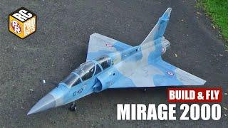 Dassault Mirage 2000 RC Plane Build & Fly