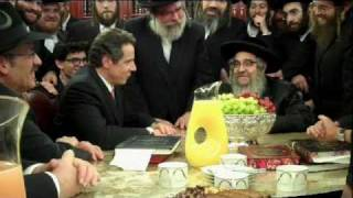 Andrew Cuomo visits Satmar Rebbe