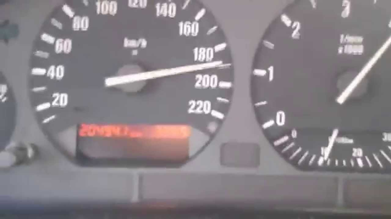 Bmw E36 318 Tds Touring Chiptuning Top Speed Youtube