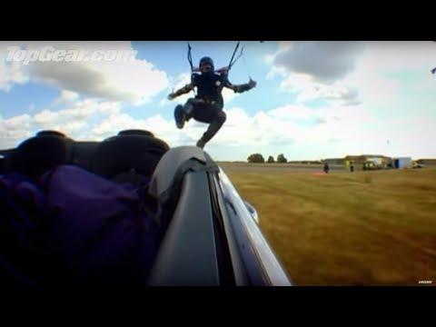 Parachute challenge! - Top Gear - BBC Autos