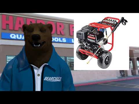 Pressure Washer From Harbor Freight