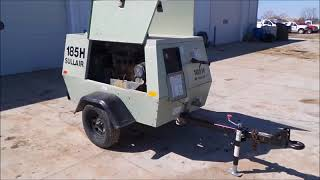 2010 Sullair 185HDPOJD air compressor for sale at auction | bidding closes May 3, 2018