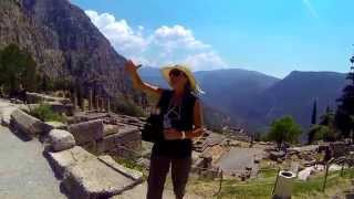 National Geographic with Radmila Jorganovic :) - Temple of Apollo at Delphi - Greece.