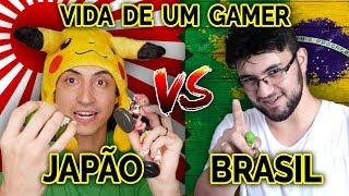 Como é ser GAMER morando no Japão x no Brasil - Experiência própria!