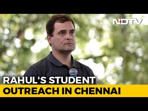 What Rahul Gandhi Told Chennai Students About PM Modi, Pakistan And More
