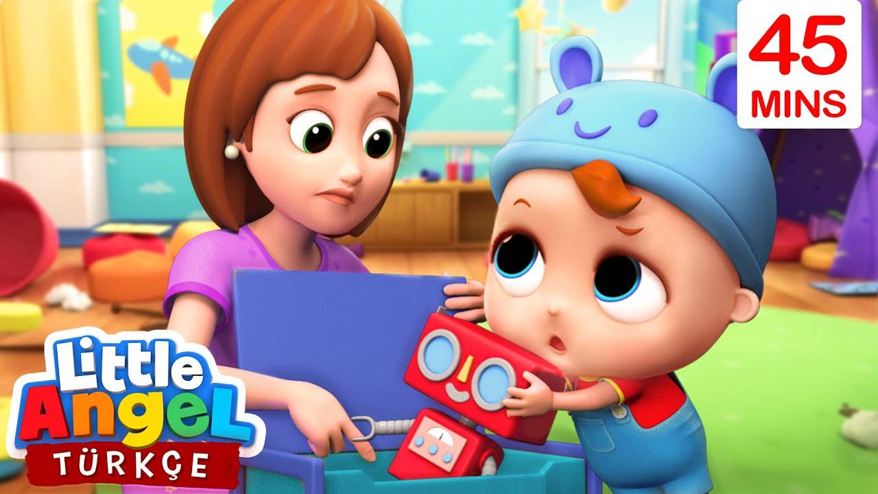 Oyuncaklarını Temiz Tut, Hijyen Önemli | Eğlenceli ve Öğretici Çocuk Şarkıları | Little Angel Türçe