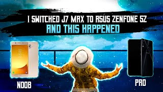 I SWITCHED SAMSUNG GALAXY J7 MAX TO ASUS ZENFONE 5z AND THIS HAPPENED | PUBG MONTAGE | Asus 5z