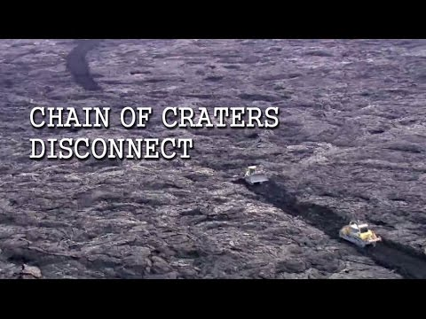 Hawaii Volcanoes National Park On Chain Of Craters Emergency Access