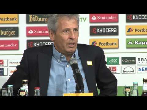 """Lucien Favre tobt nach Elfmeter: """"Das ist absurd"""" Borussia Mönchengladbach - FSV Mainz 05 1:1"""