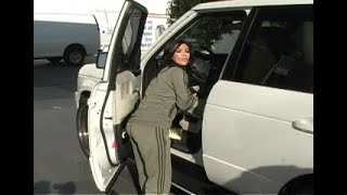 Kim Kardashian Gets Gas  [2008]
