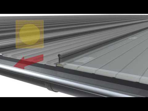 Rib Roof Evolution Gleit Falzprofildach Mit Richtclips Auf
