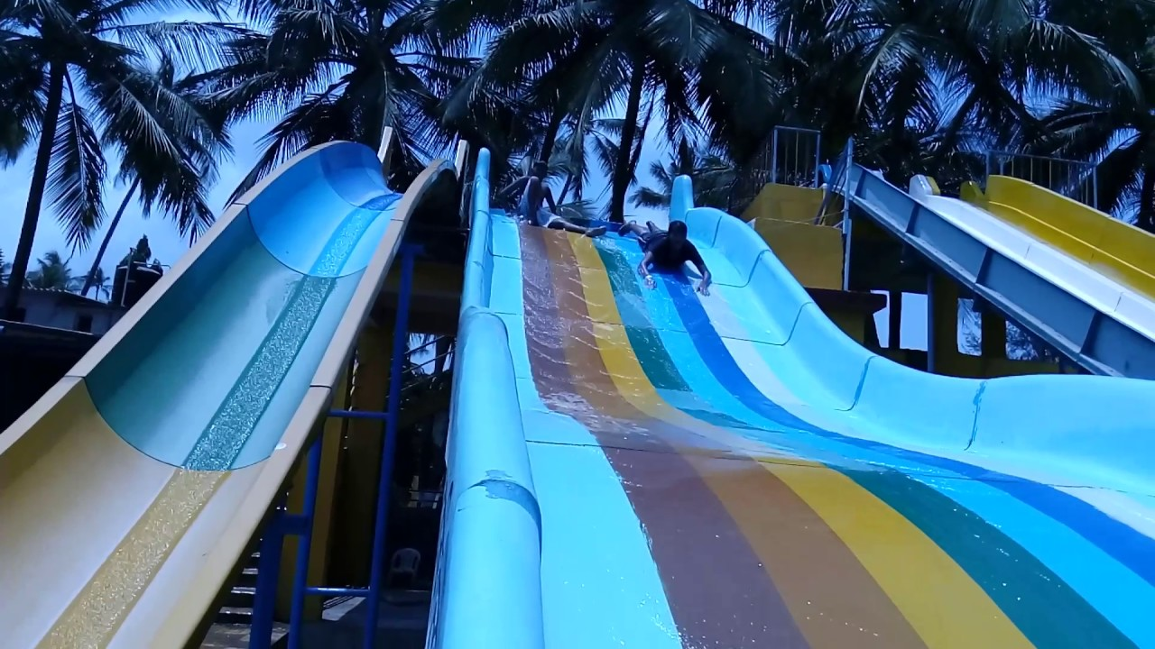 Amazing water slides @ Nakshatra Resort Virar - Swimming pool ...