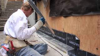Waterproofing mud/sill plate next to exterior plywood sheathing