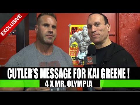 Jay Cutler Sends Message To Kai Greene!