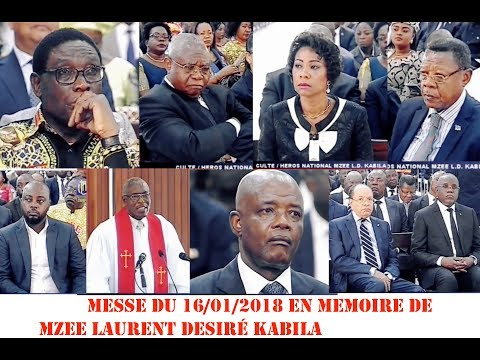 LA MESSE EN MEMOIRE  DE MZEE LAURENT DESIRÉ KABILA. PAST DAVID EKOFO