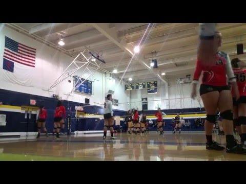 Download Ashley Noble Freshman Libero on 18-2 club volleyball