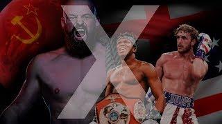KSI and Logan Paul vs Russian Street fighting boss !!