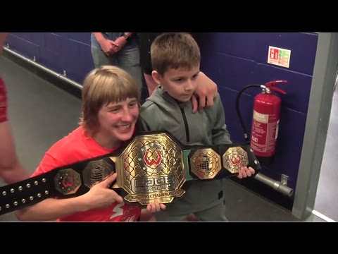 Backstage With Paddy Pimblett At Cage Warriors 78