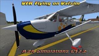 [FSX] A2A Simulations C172R on Vatsim.