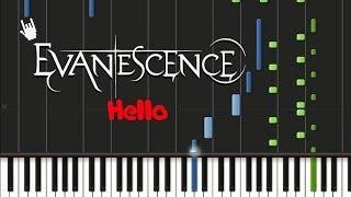 Evanescence - Hello (ORIGINAL MIDI + Synthesia)