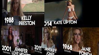 SEXIEST ACTRESS in MOVIES (1968 - 2018)