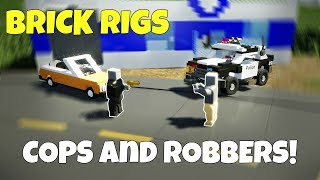 MULTIPLAYER COPS AND ROBBERS! - Brick Rigs Multiplayer Challenge Gameplay